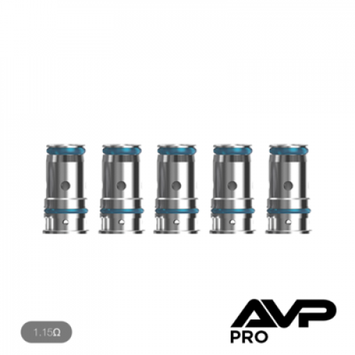 AVP Pro Replacement Coils 1.15ohm - 5 Pack