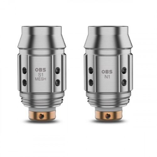 OBS Cube Mini Coils S1 Mesh - 5 Pack