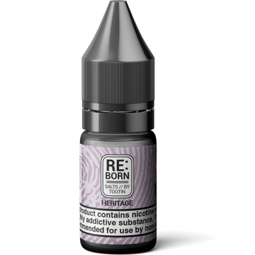 RE:Born - Heritage - 10ml Nic Salts