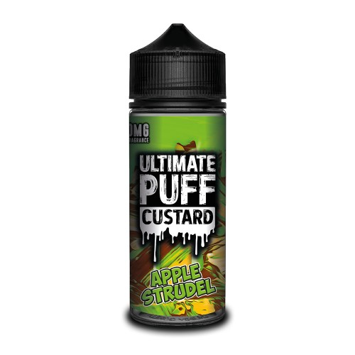 Ultimate Puff Custard – Apple Strudel 100ML Shortfill
