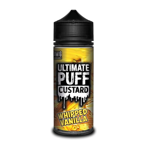 Ultimate Puff Custard – Whipped Vanilla 100ML Shortfill