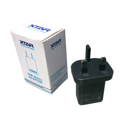 XTAR UK PLUG USB Mains Adapter